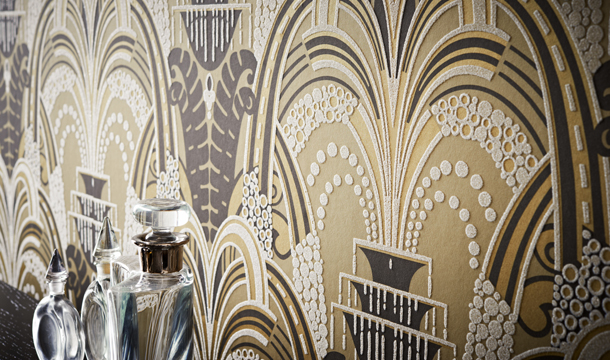 Great Gatsby Inspired Art Deco Interiors